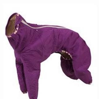 Obleček Hurtta Casual prošívaný overal fialový 30L