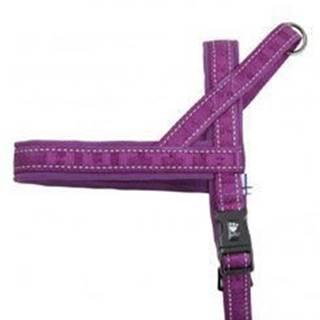 Postroj Hurtta Casual fialový 60cm