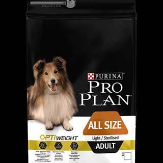 ProPlan Dog All Size Adult Light/Sterilised 3kg