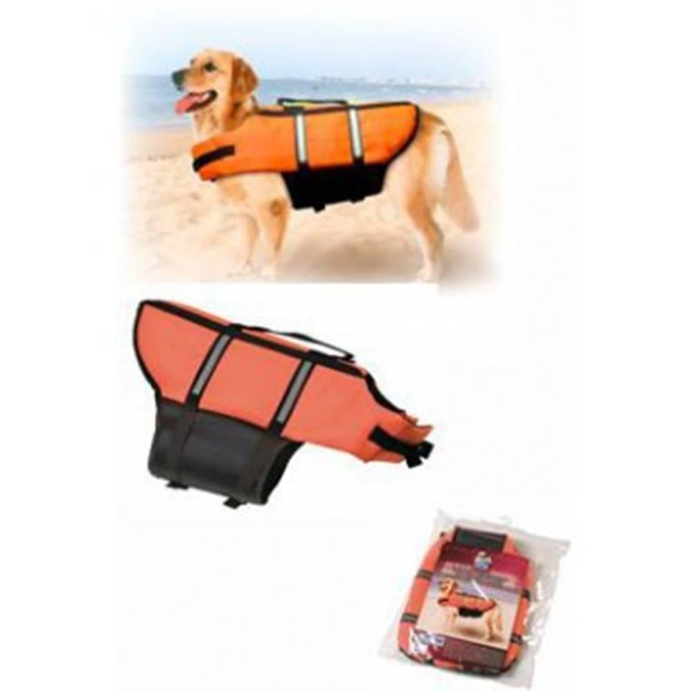 Karlie Vesta plavací Dog M 35cm oranžová