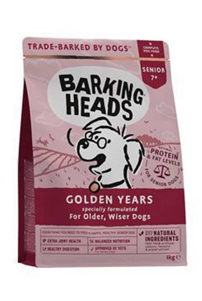 Barking heads BARKING HEADS Golden Years NEW 1kg