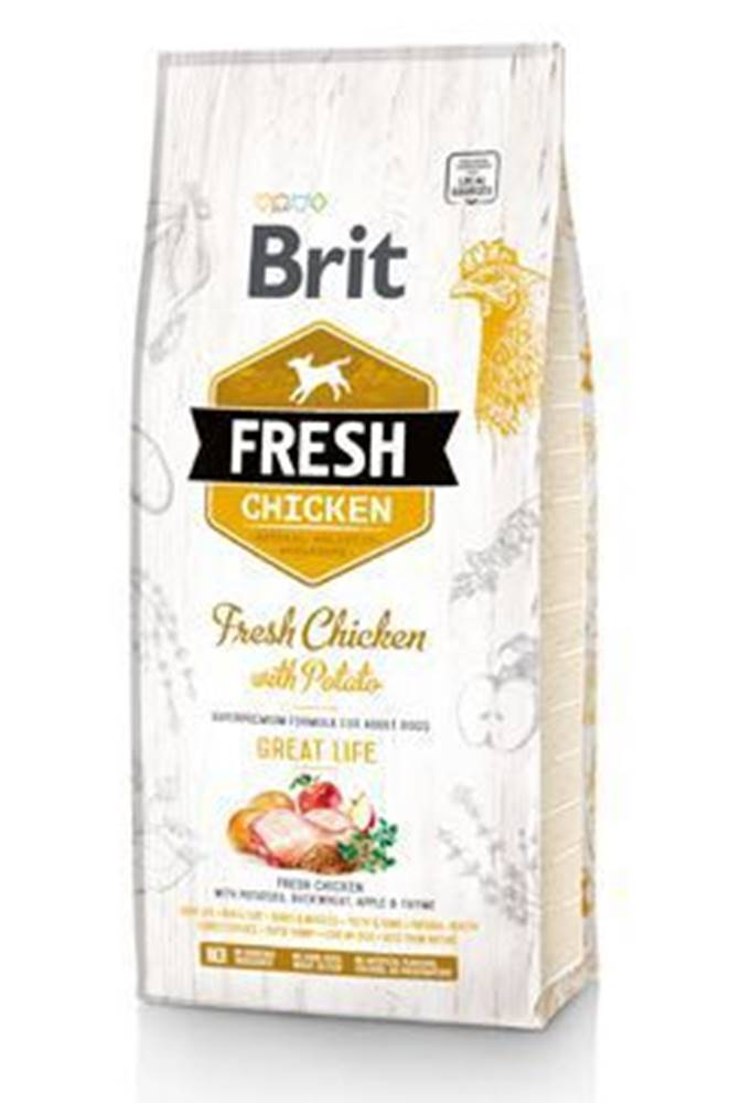 Brit Brit Dog Fresh Chicken & Potato Adult Great Life 2,5kg