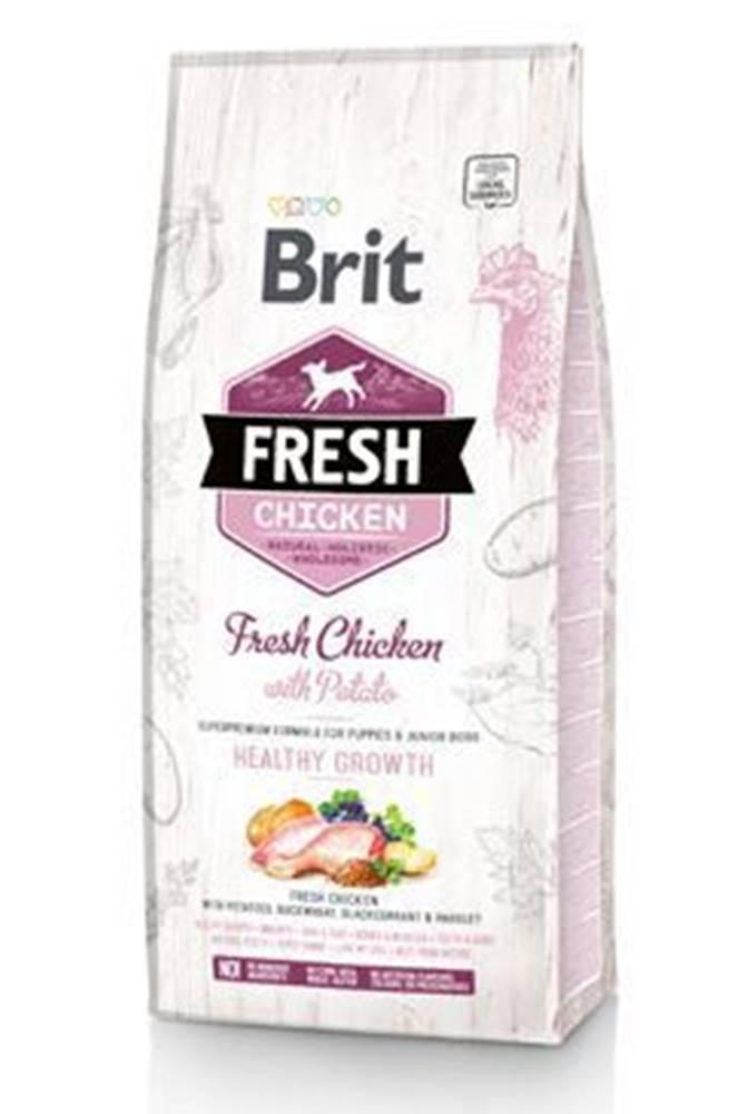 Brit Brit Dog Fresh Chicken&Potato Puppy HealthyGrowth2,5kg