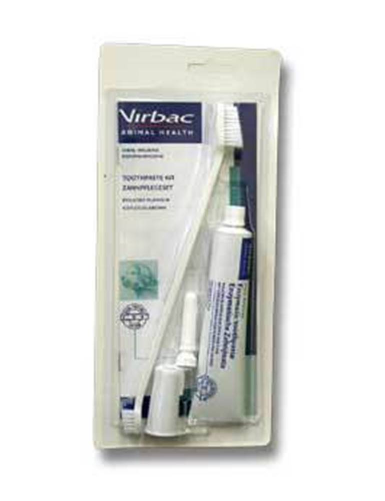 Virbac C.E.T. Zubní pasta enzymatická drůbeží, kartáček 70g