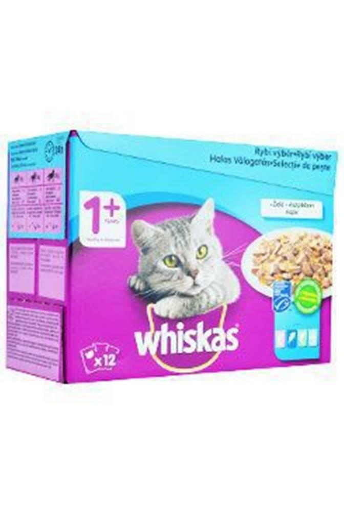 Whiskas Whiskas kapsa Rybie výber vo želé 12x100g