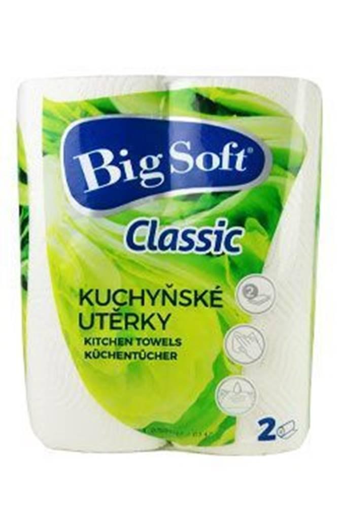 Ostatní Utěrky kuchyňské papírové Big Soft 2ks