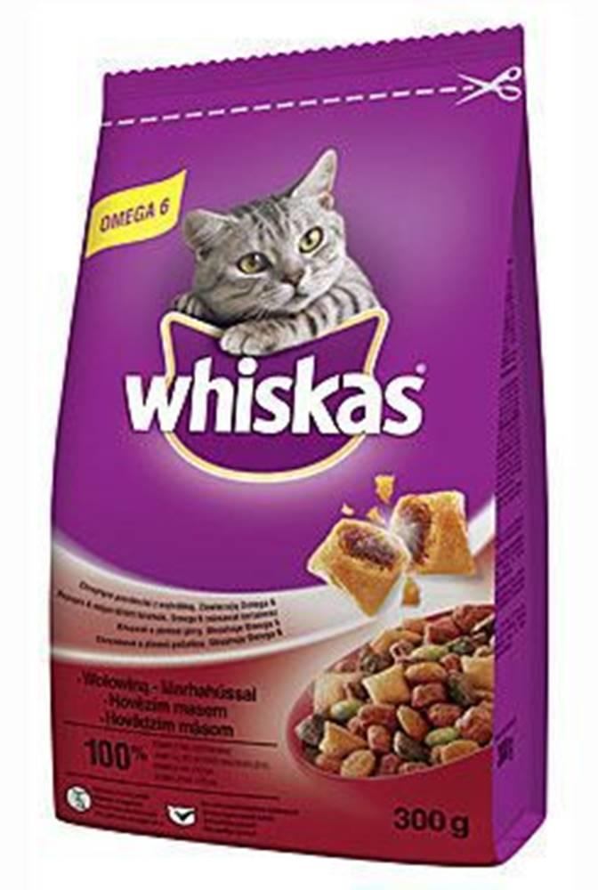 Whiskas Whiskas Dry s hovězím masem 300g