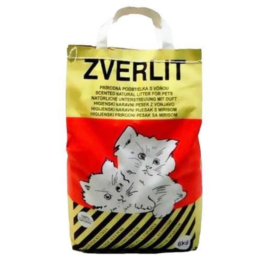 Zverlit ZVERLIT červený hrubá s vůní Podestýlka kočka 6kg