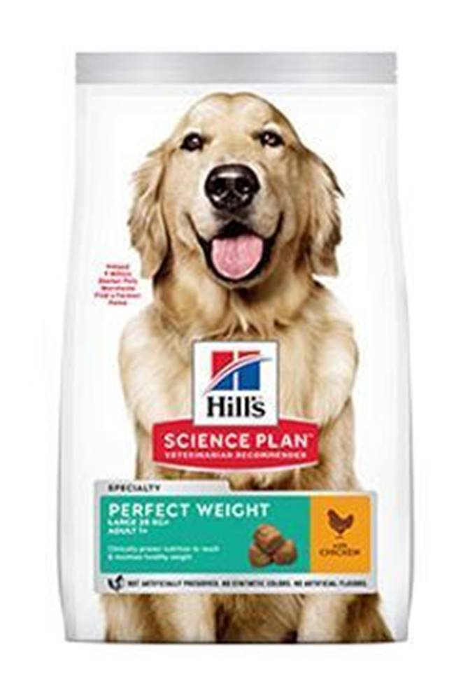 Hill's Hill's Can.Dry SP Perf.Weight Adult Large Chicken 12kg