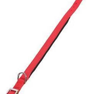 Obojok pes SOFT NYLON červený 25mm / 50cm Zolux