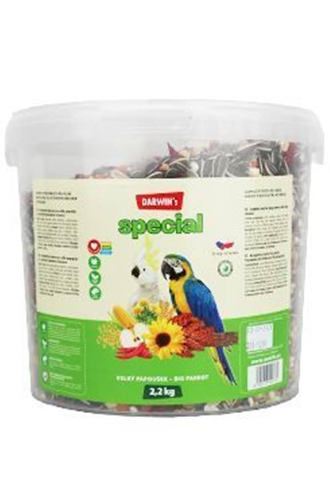Nutri Can Darwin 's veľký papagáj special vedro 2,2kg