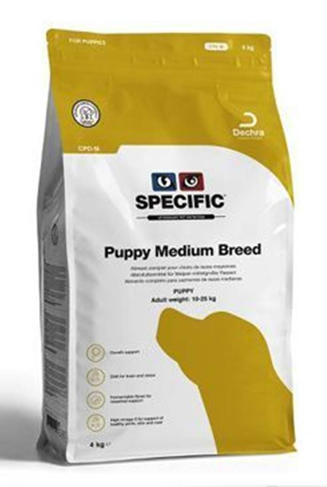 Specific Specific CPD-M Puppy Medium Breed 7kg pes