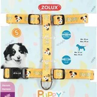 Postroj pes šteňa MASCOTTE nastaviteľný žltý 8mm Zolu