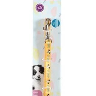 Vodítko pes šteňa MASCOTTE žltá 8mm 1,2m Zolux