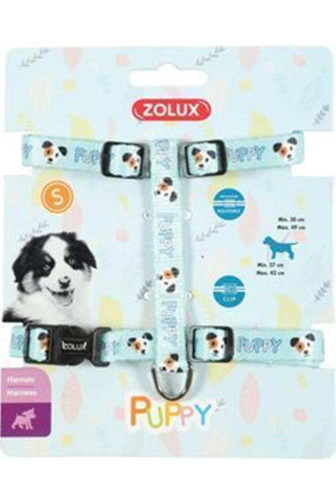 Zolux Postroj pes šteňa MASCOTTE nastaviteľný modrý 13mm Zol
