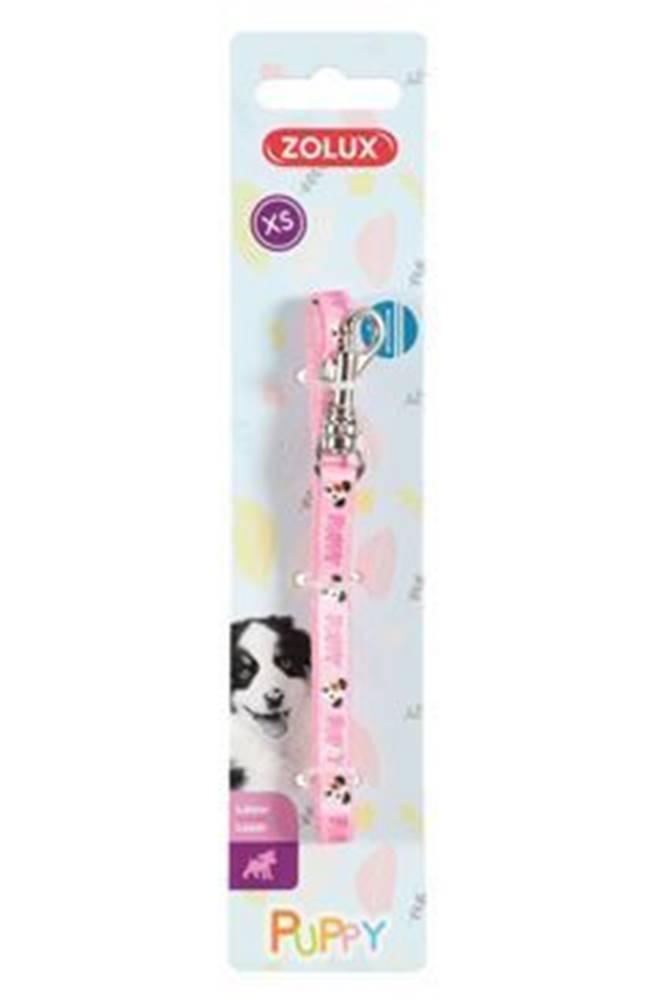 Zolux Vodítko pes šteňa MASCOTTE ružová 8mm 1,2m Zolux