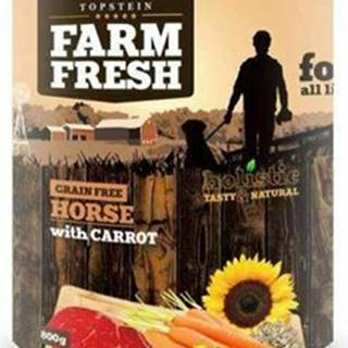 Farm Fresh Dog Horse with Carrot konzerva 800g