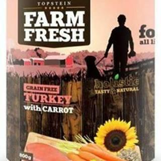 Farm Fresh Dog Turkey with Carrot konzerva 800g