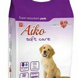 Podložka absorpčná pre psov Aiko Soft Care 60x58cm 7ks