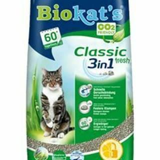 Podstielka Biokat's Classic Fresh 18L