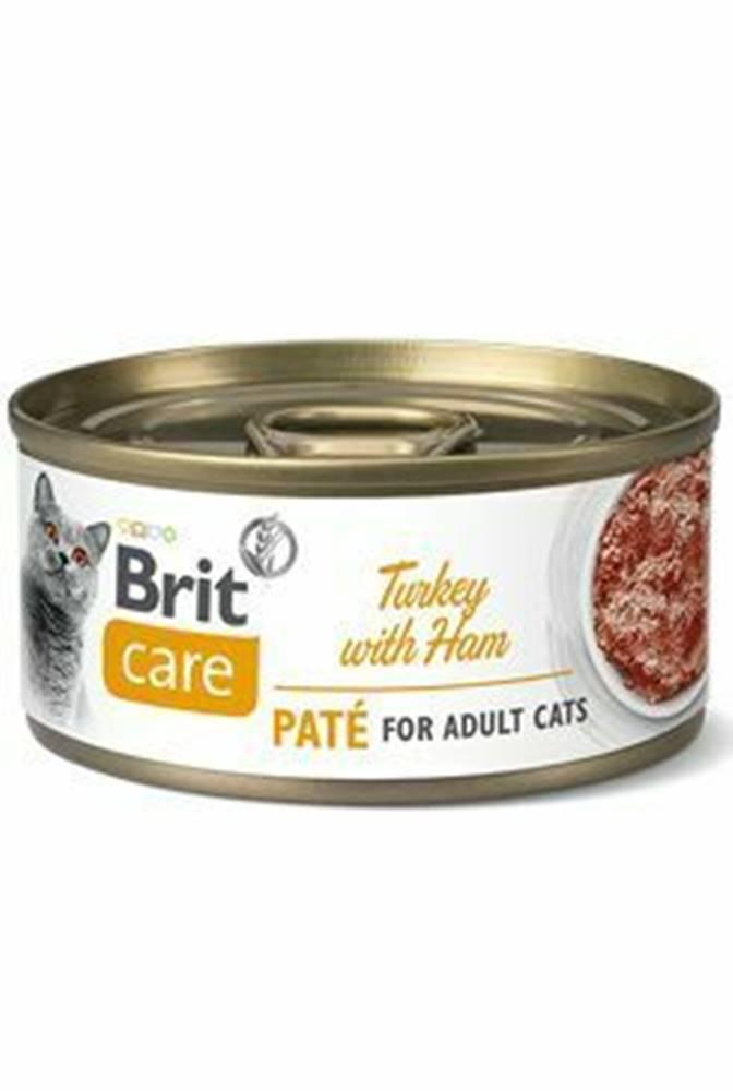 Brit Care Brit Care Cat konz  Paté Turkey&Ham 70g