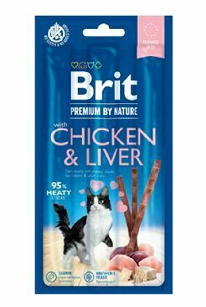 Brit Premium Brit Premium Cat by Nature Sticks Chicken&Liver(3pcs)