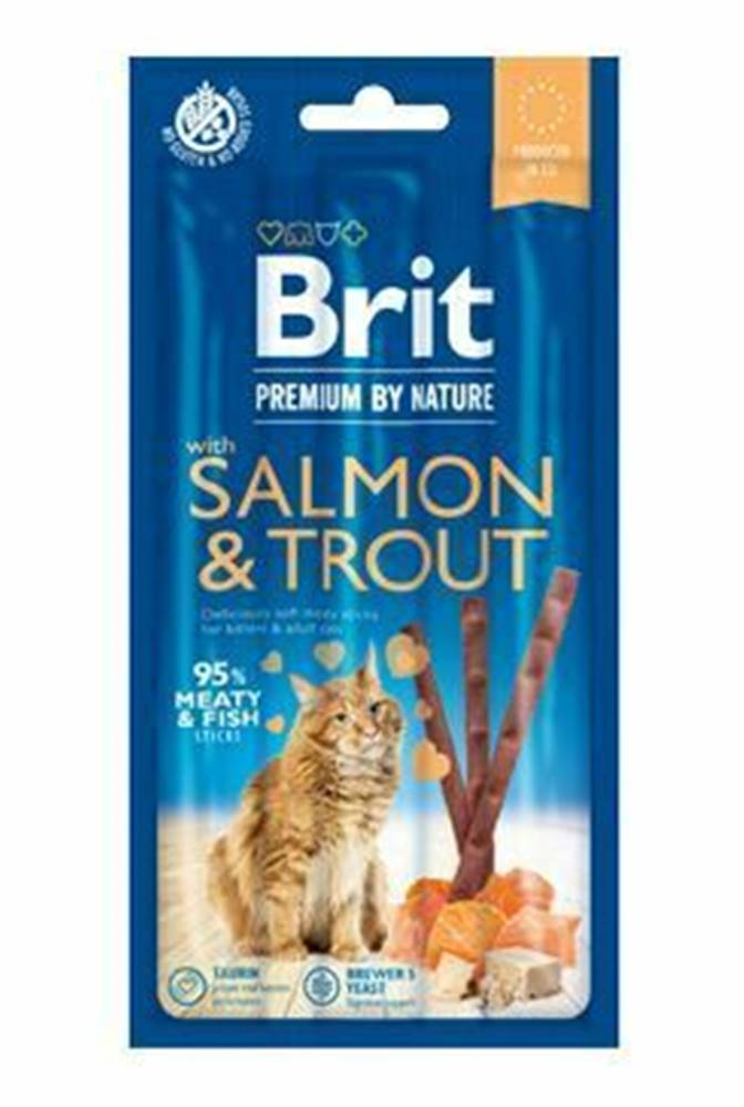 Brit Premium Brit Premium Cat by Nature Sticks Salmon&Trout(3pcs)