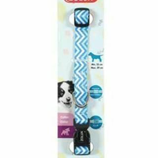 Obojok pes šteňa PIXIE nastaviteľný modrý 8mm Zolux