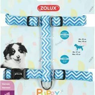 Postroj pes šteňa PIXIE nastaviteľný modrý 8mm Zolux