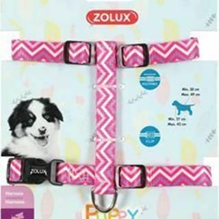 Postroj pes šteňa PIXIE nastaviteľný ružový 8mm Zolux