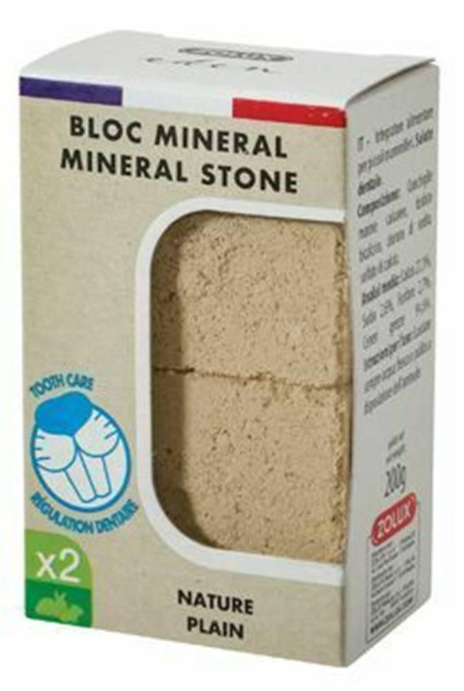 Zolux Minerálne kameň EDEN hlodavcami prírodné 2x200g Zolux