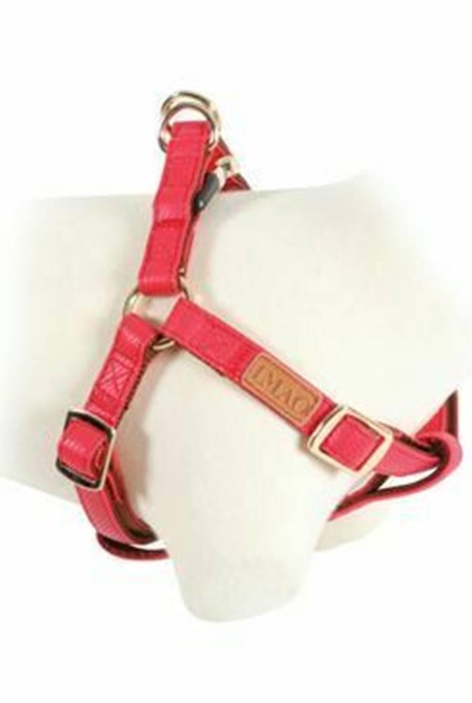 Zolux Postroj pes MAYFAIR nastaviteľný červený 25mm Zolux