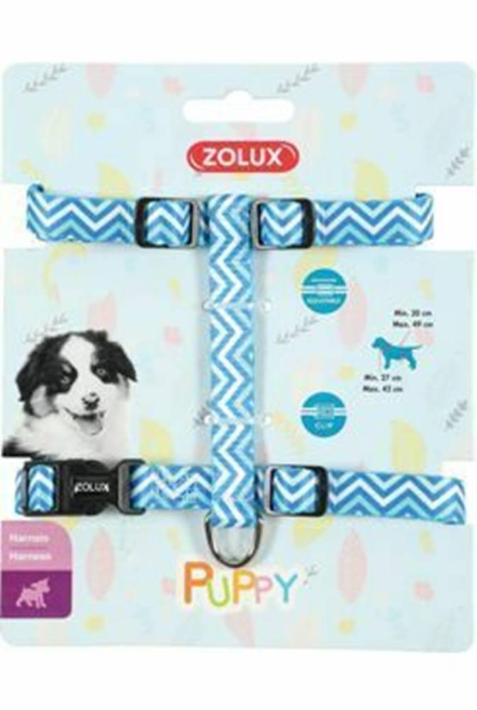 Zolux Postroj pes šteňa PIXIE nastaviteľný modrý 13mm Zolux