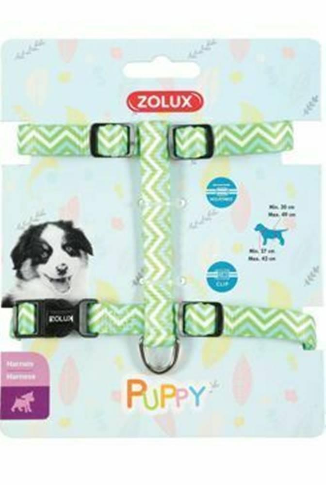 Zolux Postroj pes šteňa PIXIE nastaviteľný zelený 8mm Zolux